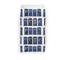 Doctor Who - The TARDIS Duvet Cover