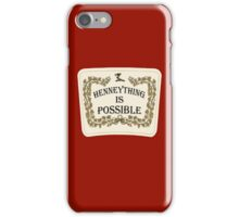 Henneything is Possible iPhone Case/Skin