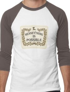 Henneything is Possible Men's Baseball ¾ T-Shirt