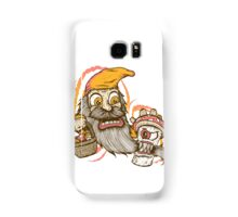 Gnome being attacked by killer shroom! Samsung Galaxy Case/Skin