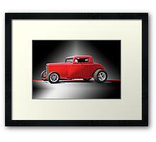 1932 Ford HiBoy Coupe 'Studio' Framed Print