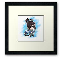 Mei Splat Framed Print