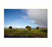 Rainbows.  Art Print