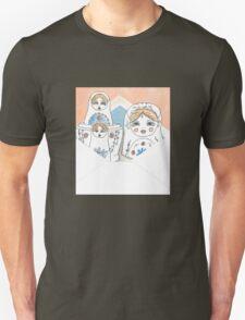 Nesting Dolls Unisex T-Shirt