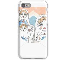 Nesting Dolls iPhone Case/Skin