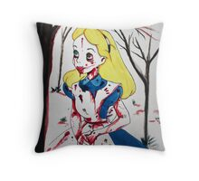 28 days after wonderland Throw Pillow