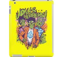 Jonas Bothers Zombie!!!! iPad Case/Skin