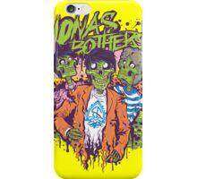 Jonas Bothers Zombie!!!! iPhone Case/Skin