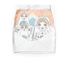 Nesting Dolls Mini Skirt