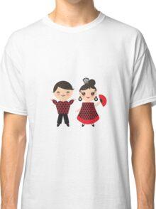 Flamenco boy and girl 2 Classic T-Shirt