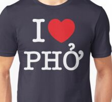I Heart (Love) Phở Unisex T-Shirt
