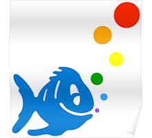 rainbow bubblefish Poster