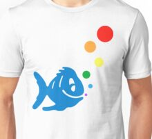 rainbow bubblefish Unisex T-Shirt