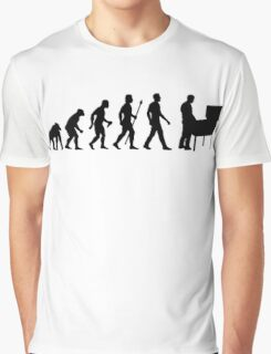 Funny Evolution Of Pinball Graphic T-Shirt