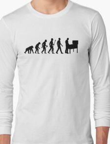 Funny Evolution Of Pinball Long Sleeve T-Shirt