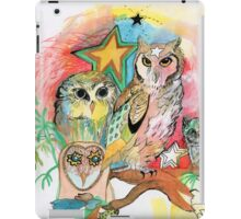 Owls and Stars iPad Case/Skin