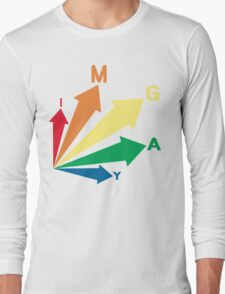 all signs point to... im gay! Long Sleeve T-Shirt