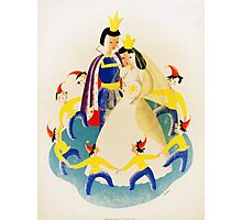Vintage poster - Snow White Photographic Print