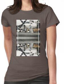 CRA Flight Deck 1  Womens Fitted T-Shirt