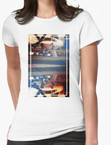 CRA Flight Deck 1 Warm Womens Fitted T-Shirt