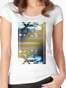 CRA Flight Deck 1 Cool Women's Fitted Scoop T-Shirt