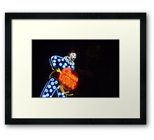 Classic SoCal Neon Framed Print