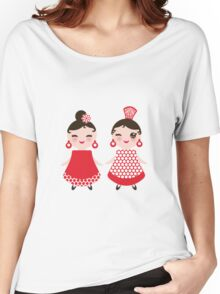 Flamenco girls Women's Relaxed Fit T-Shirt