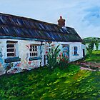 'Parkmount Cottage, Townland of Ballyharry, Islandmagee, (the Place Where my Grandfather Died).' by Laura Butler