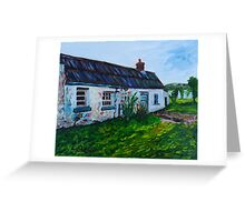 'Parkmount Cottage, Townland of Ballyharry, Islandmagee, (the Place Where my Grandfather Died).' Greeting Card