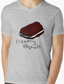 Creamy Biscuits Mens V-Neck T-Shirt