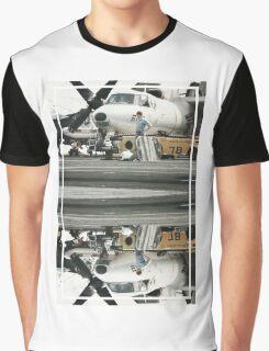 CRA Flight Deck 1  Graphic T-Shirt