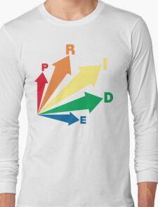 all signs point to... pride! Long Sleeve T-Shirt