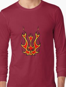 Feuer kunst  Long Sleeve T-Shirt