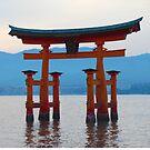 Miyajima Tori Gate by inu14