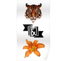 Tiger & Lily, Peter Pan themed-Multiprint Poster