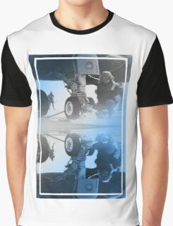 CRA Flight Deck 2 Blue Graphic T-Shirt