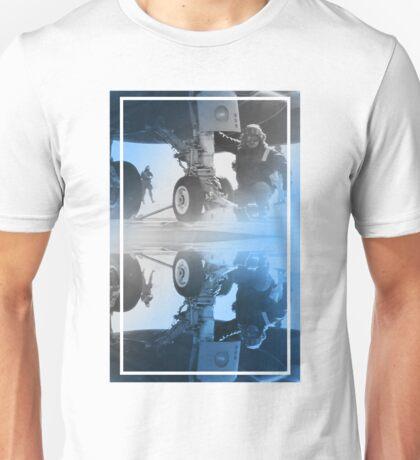 CRA Flight Deck 2 Blue Unisex T-Shirt