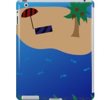 Ocean and Beach Scene iPad Case/Skin