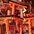 Fushimi Inari Tori Gate Boards by inu14