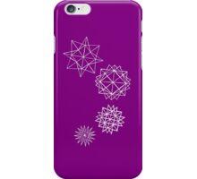 Papercut star pattern iPhone Case/Skin