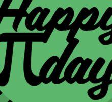 Happy Pi Day Sticker