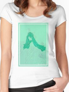 CRA A Green Women's Fitted Scoop T-Shirt