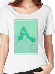 CRA A Green Women's Relaxed Fit T-Shirt