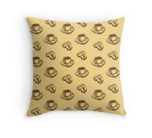 Light Roast Throw Pillow