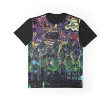 Donuts Abstract 19 Graphic T-Shirt