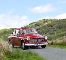 The Three Castles Welsh Trial 2014 - Volvo 123 GT by Three-Castles