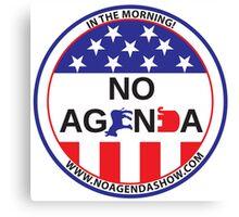 No Agenda Badge of Courage Canvas Print