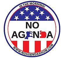 No Agenda Badge of Courage Photographic Print
