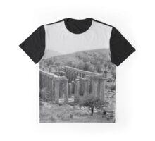 Temple of Apollo Epicurius, Bassae, Greece  Graphic T-Shirt