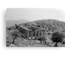 Temple of Apollo Epicurius, Bassae, Greece  Canvas Print